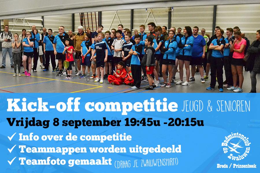 Kick-off competitie 2017/2018